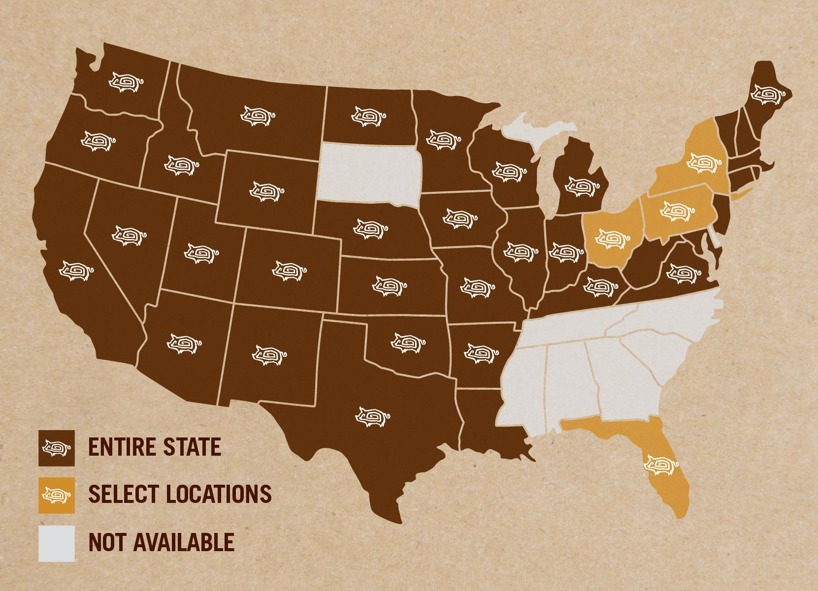 Chipotle Stores Map ChipotleHow Menu Innovations Generate Lots Of