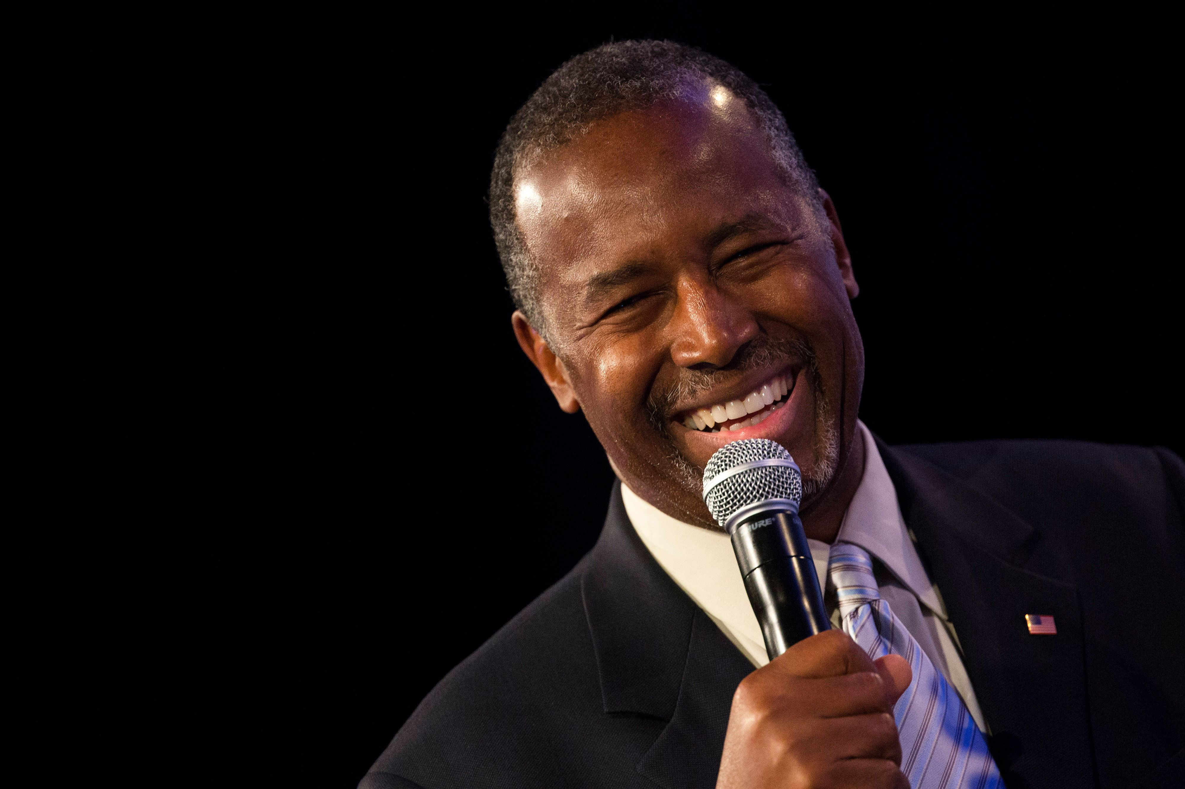 Maybe this time, Ben Carson didn't graspthe fulldimensions of the question.