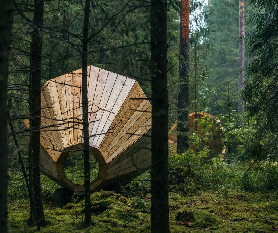 Giant Megaphones In Estonia Let You Listen To Sounds Of The