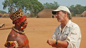 Mark Plotkin with the late Atamai, Chief of the Waura tribe, Brasil.