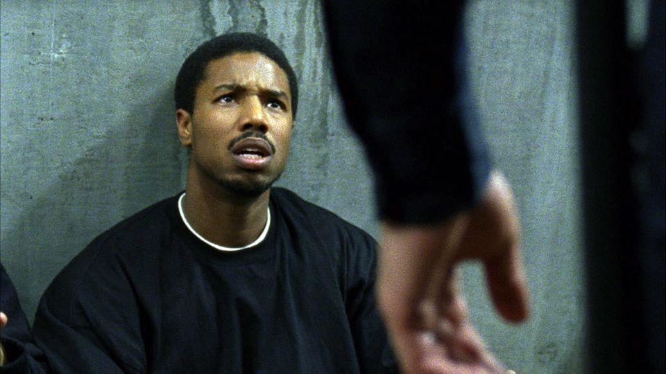 "This film publicity image released by The Weinstein Company shows Michael B. Jordan in a scene from ""Fruitvale Station."" (AP"