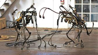 Robotic Church: Dog Monkeys