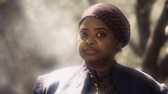 "Octavia Spencer as Harriet Tubman on Comedy Central's ""Drunk History"""