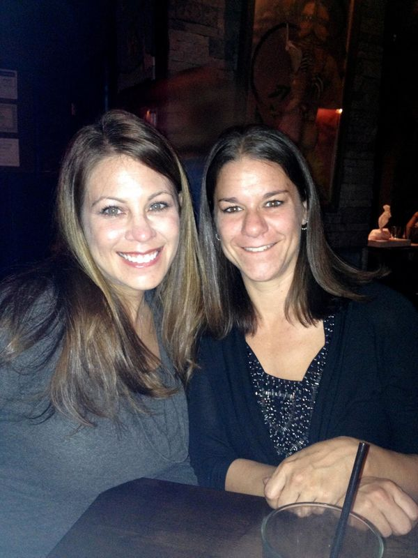 """""""The biggest distraction for me during my divorce was girls' night out. I am fortunate that I had a lifelong friend (35 years"""
