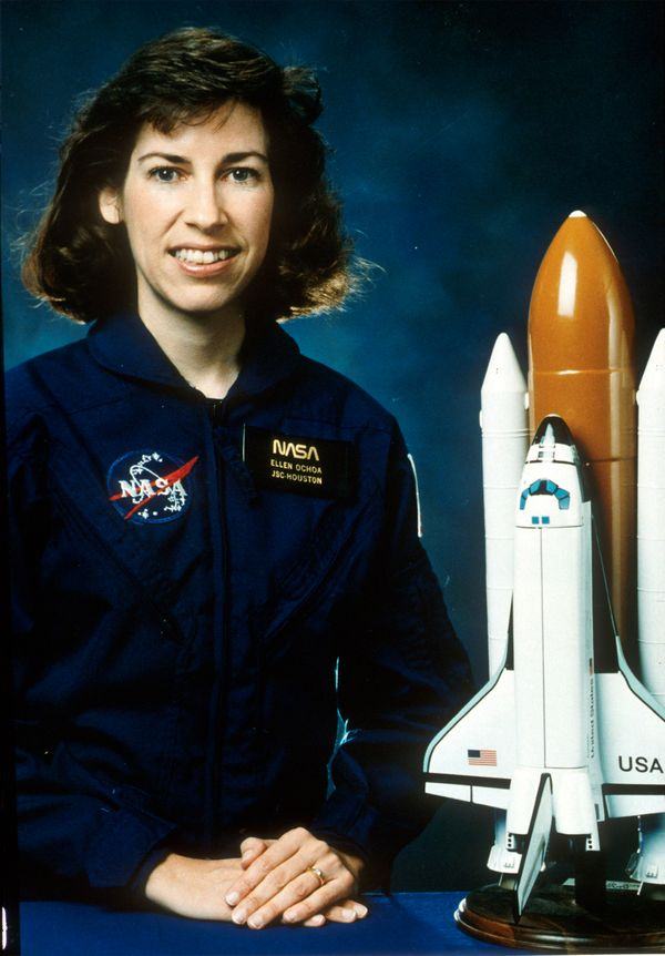 "<a href=""http://thinkexist.com/quotes/ellen_ochoa/"">""This was the last astronaut job that was not (yet) done by a woman.</a>"
