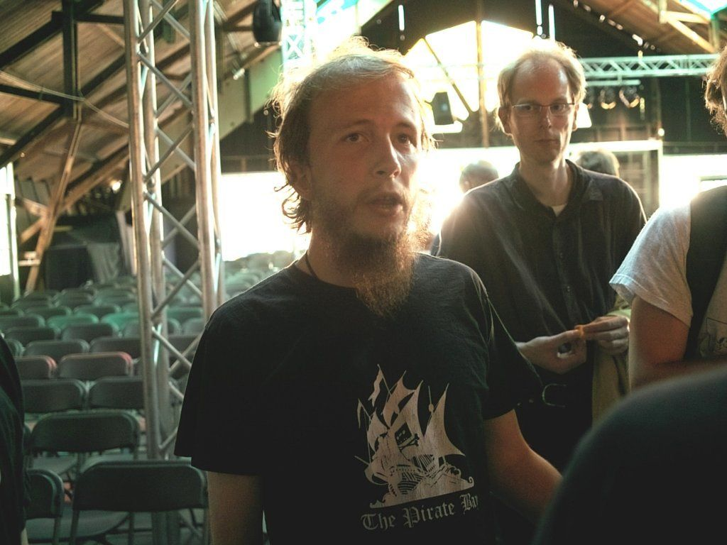 Gottfrid Svartholm in 2009.