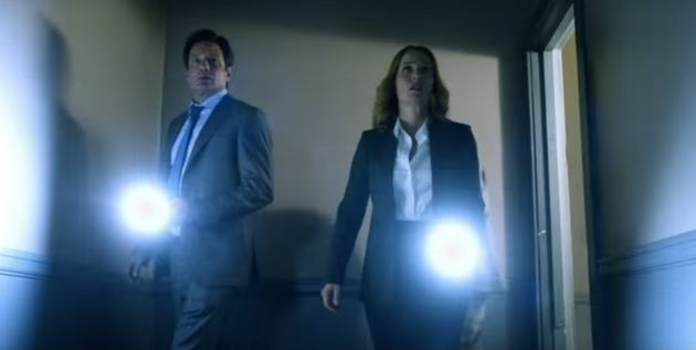 Mulder And Scully Reunite In 2-Part Trailer For 'The X-Files'