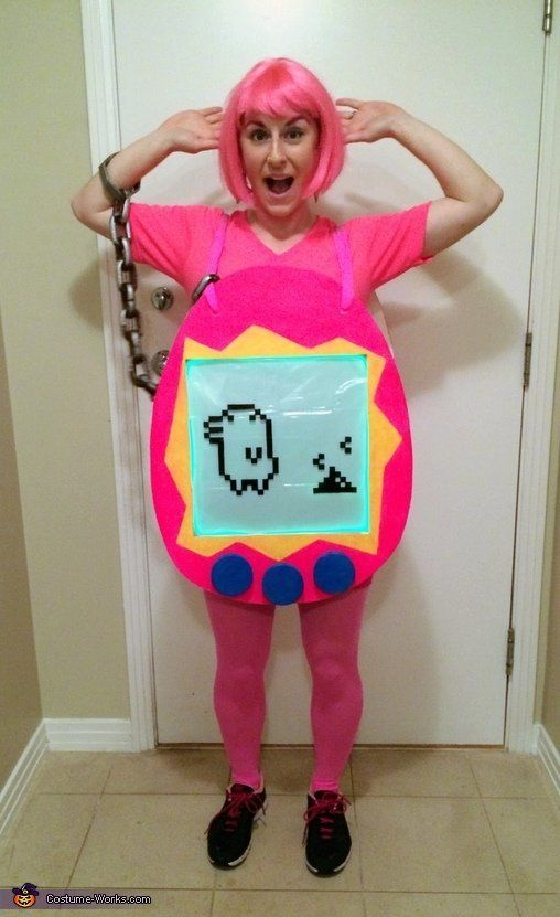 "Adorable and you make it in any color!<br><br><a href=""http://www.costume-works.com/costumes_for_women/tamagotchi.html"">via C"