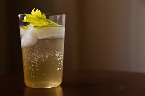 "<strong>Get the <a href=""http://food52.com/recipes/16516-celery-soda"" target=""_blank"">Celery Soda recipe</a> from Food52</str"