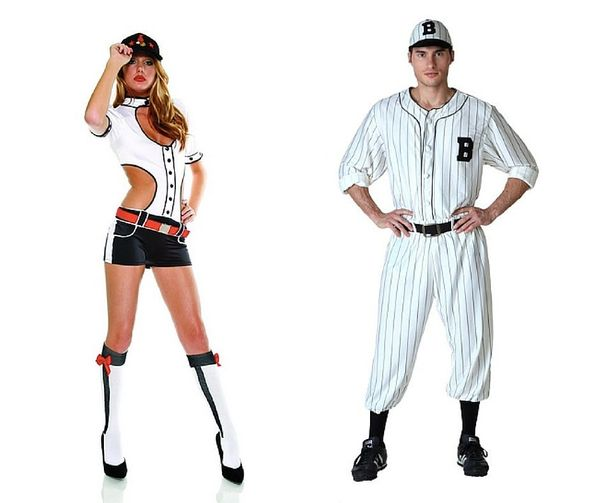 """<a href=""""http://www.trendyhalloween.com/Baseball-Cutie-Costume-P8975.aspx?afid=4&gclid=CLL4x_zGnMgCFcISHwodascDZg#.Vgqtu3"""