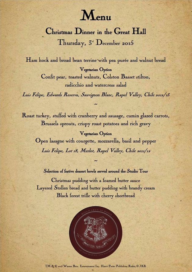 Raise Your Butterbeers At A Hogwarts Christmas Feast In The Real Great