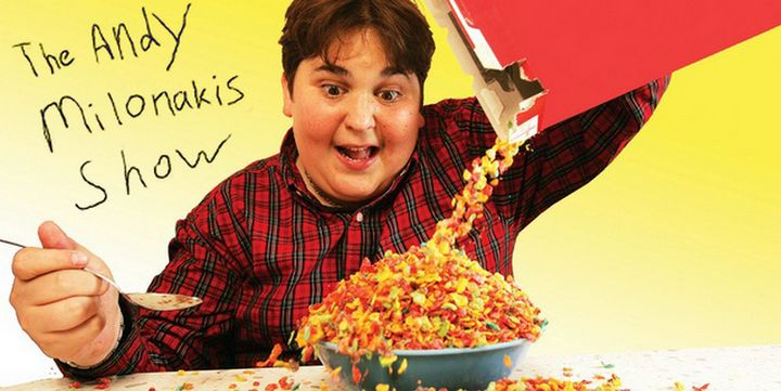 from Giancarlo superbowl is gay andy milonakis