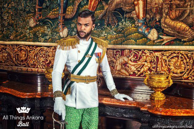 African Royalty Fashion Men