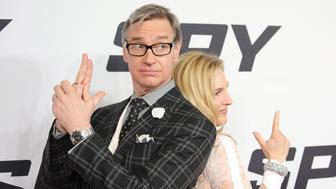 NEW YORK, NY - JUNE 01:  Director Paul Feig and Laurie Karon attends the 'Spy' New York Premiere at AMC Loews Lincoln Square on June 1, 2015 in New York City.  (Photo by Neilson Barnard/Getty Images)