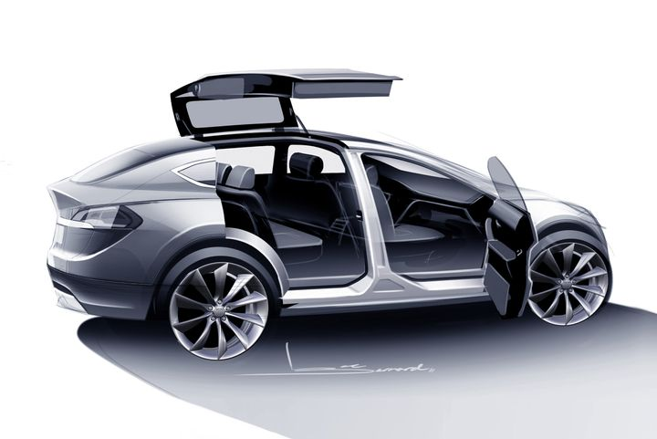 Here S Everything We Know About The New Tesla Model X Huffpost