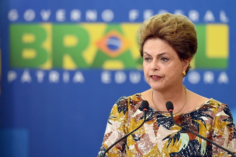 """In a world where goods, capital, data and ideas flow freely, it is absurd to impede the free flow of people,"" Rousseff said."