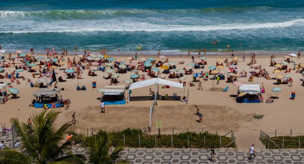 Median Hotel Rate: $212<br><br>With seasons opposite those in the U.S., Rio in August will let travelers escape the intense h