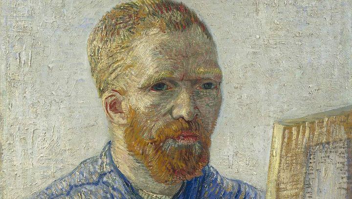 "Vincent van Gogh, ""Self-Portrait,"" <a href=""https://en.wikipedia.org/wiki/Van_Gogh_Museum#/media/File:Vincent_van_Gogh_-_Zelf"