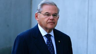 NEWARK, NJ - APRIL 02:  Sen. Robert Menendez arrives at a federal court to be indicted on corruption charges on April 2, 2015 in Newark, New Jersey. Melgen and U.S. Sen. Robert Menendez (D-NJ) are being indicted on corruption charges stemming from the senator being accused of accepting nearly $1 million in gifts and campaign contributions.  (Photo by Kena Betancur/Getty Images)