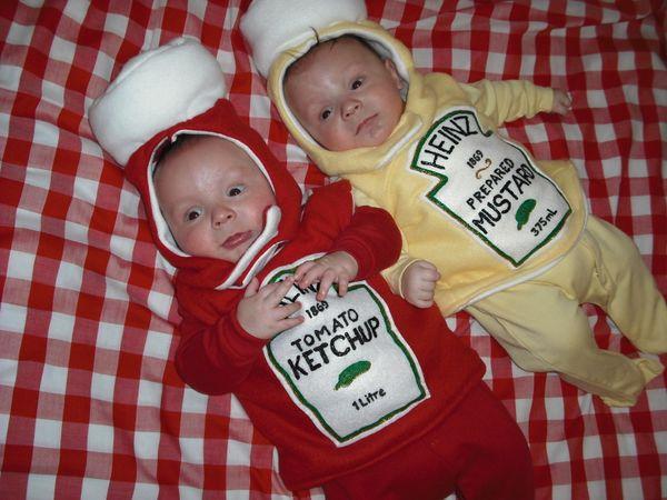 Mustard Halloween Costume