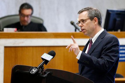 James Bromley delivers closing arguments for the plaintiffs in the trial Ferguson v. JONAH. In a first-of-its-kind trial, fiv