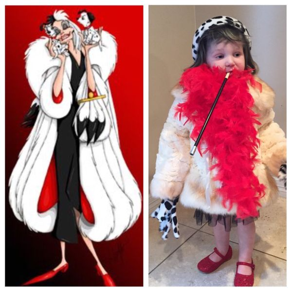 Mom crushes halloween with these diy costumes for her daughter cruella deville solutioingenieria Image collections