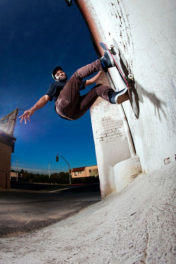 Ray Barbee is seen in this promotional shot provided by Vans.