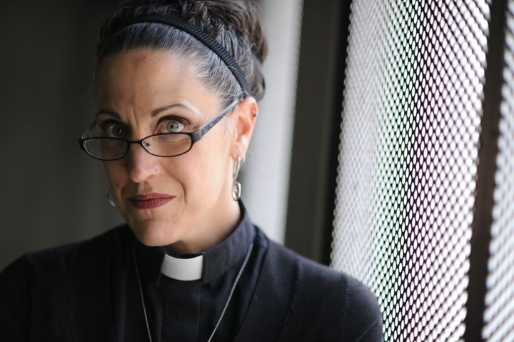 Nadia Bolz-Weber is a rising star in the emergent church, very hip culturally and socially progressive, yet still theological