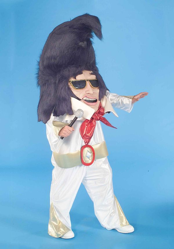 "Want to dress like Elvis, but still freak people out? This <a href=""http://www.halloweencostumes.com/adult-rock-and-roll-king"