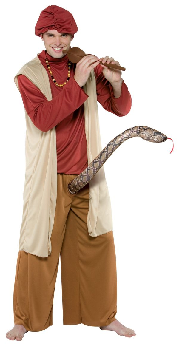 "Guys: When women see a <a href=""http://www.buycostumes.com/p/31698/snake-charmer-adult-costume"" target=""_blank"">giant snake c"