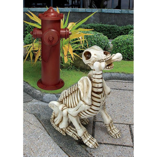"You don't have to <a href=""http://www.wayfair.com/Fetch-the-Skeleton-Dog-Statue-QM14021-TXG8043.html"" target=""_blank"">give th"