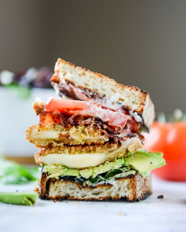 """<strong>Get the<a href=""""http://www.howsweeteats.com/2015/09/crispy-smoked-provolone-blats/"""">Crispy Smoked Provolone BLA"""