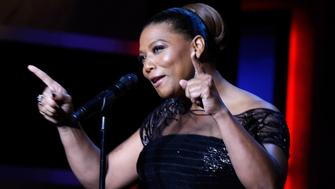 HOLLYWOOD, CA - JUNE 04:  Actress/singer Queen Latifah performs onstage during the 43rd AFI Life Achievement Award Gala honoring Steve Martin at Dolby Theatre on June 4, 2015 in Hollywood, California.  (Photo by Frazer Harrison/Getty Images for AFI)