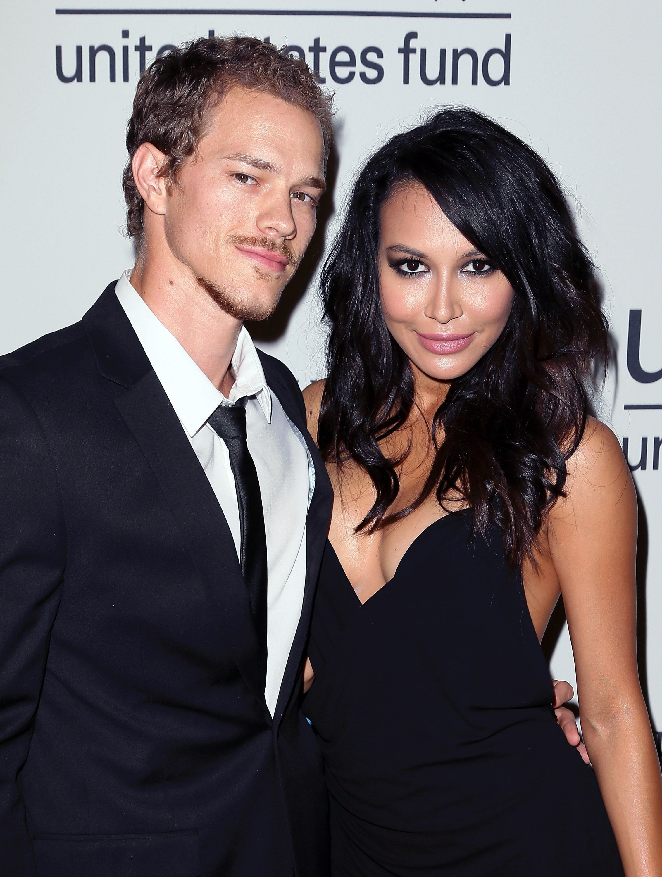 LOS ANGELES, CA - OCTOBER 30:  Actors/husband & wife Ryan Dorsey (L) and Naya Rivera attend UNICEF's Next Generation's 2nd Annual UNICEF Masquerade Ball at Hollywood Forever Cemetery on October 30, 2014 in Los Angeles, California.  (Photo by David Livingston/Getty Images)