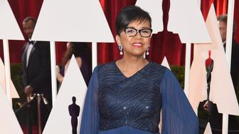 HOLLYWOOD, CA - FEBRUARY 22: President of AMPAS Cheryl Boone Isaacs attends the 87th Annual Academy Awards at Hollywood & Highland Center on February 22, 2015 in Hollywood, California.  (Photo by Jeff Kravitz/FilmMagic)