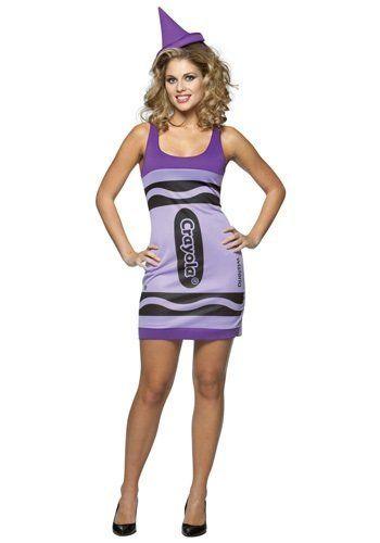 "via&nbsp;<a href=""http://www.halloweencostumes.com/sexy-wisteria-crayon-dress.html"">Halloween Costumes</a>"