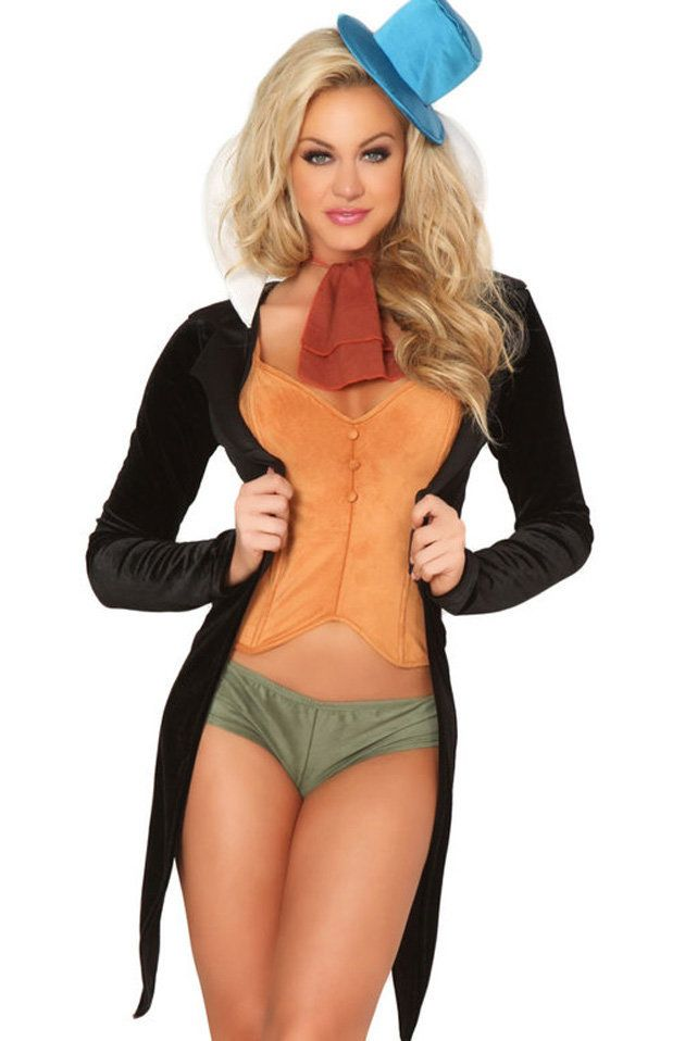 viau0026nbsp ...  sc 1 st  HuffPost & 26 Halloween Costumes That Never Needed To Be Sexy | HuffPost