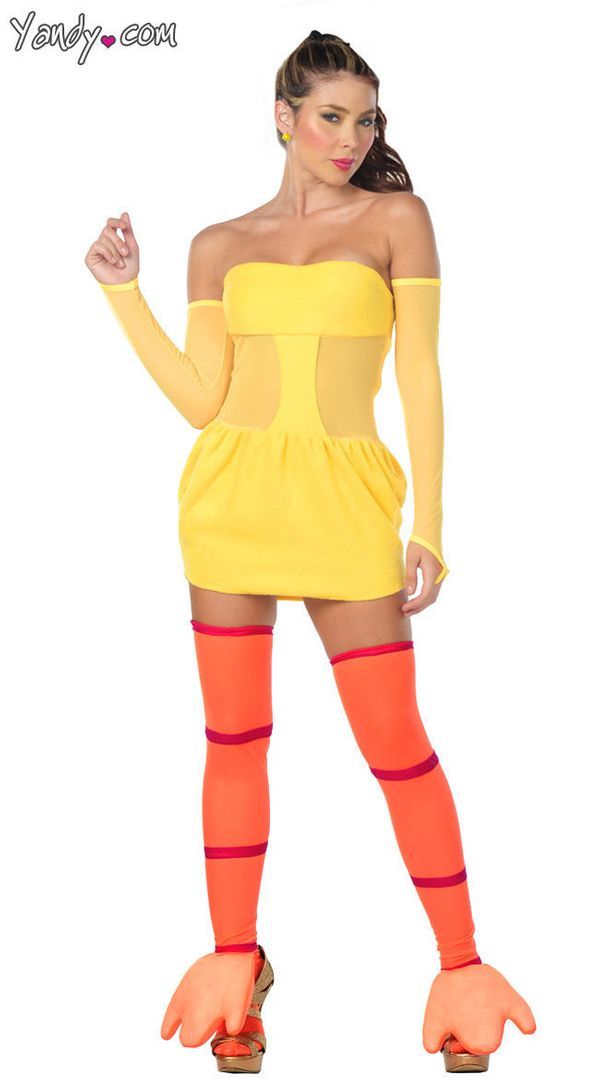 "via&nbsp;<a href=""http://www.yandy.com/Exclusive-Yellow-Dress-and-Stockings.php"">Yandy</a>"