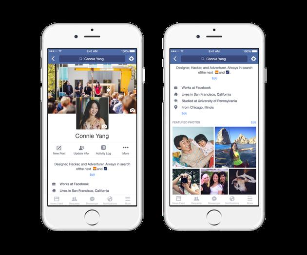 Facebook Announces Animated Profile