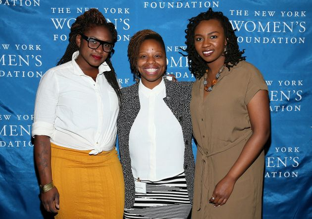 "<span class='image-component__caption' itemprop=""caption"">Black Lives Matter co-founders Alicia Garza, Patrisse Cullors and Opal Tometi attend The New York Women's Foundation Celebrating Women Breakfast on May 14, 2015, in New York City.</span>"