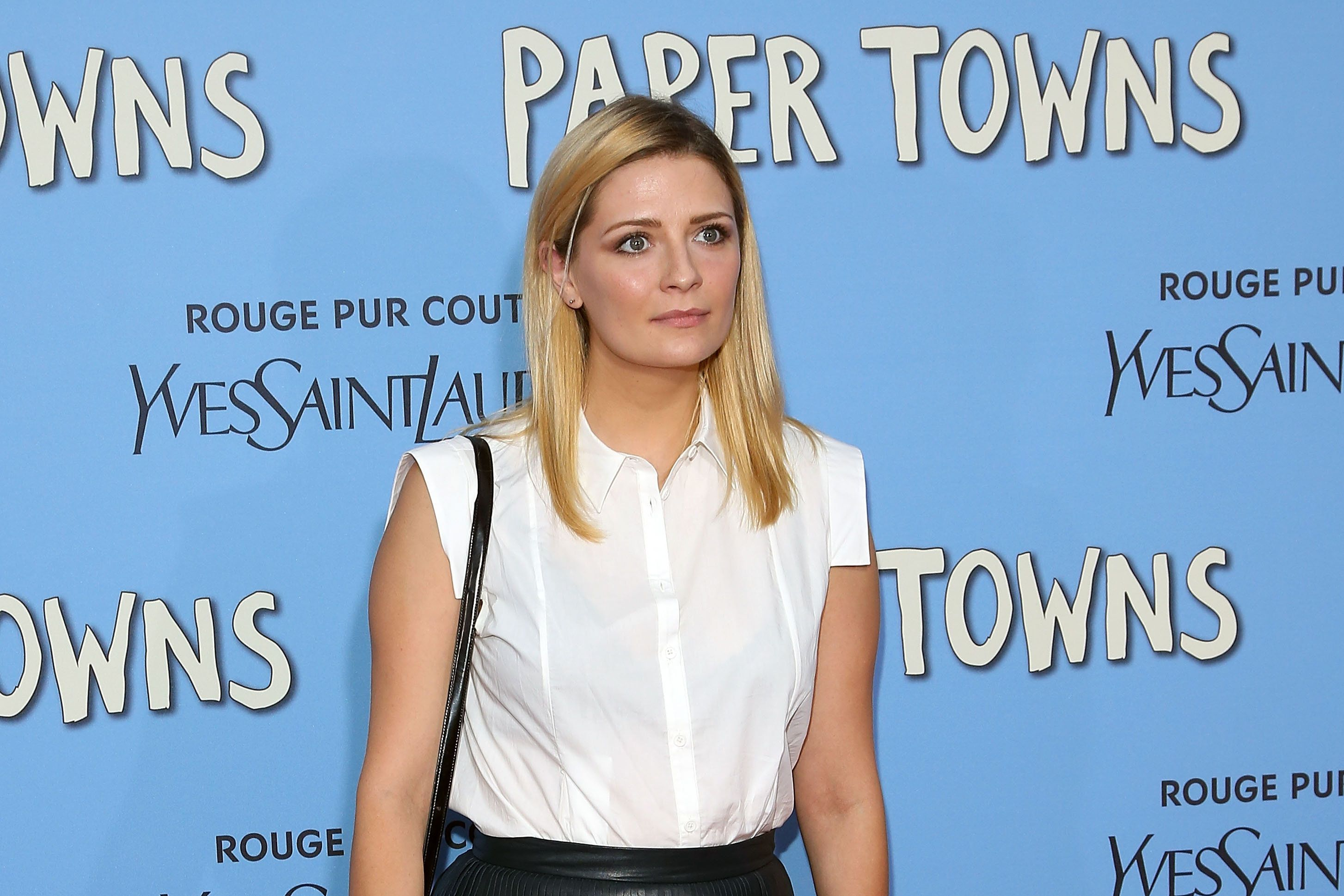 NEW YORK, NY - JULY 21:  Actress Mischa Barton attends the New York City premiere of 'Paper Towns' at AMC Loews Lincoln Square on July 21, 2015 in New York City.  (Photo by Taylor Hill/Getty Images)