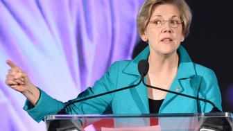 WASHINGTON, DC - JULY 08: Senator Elizabeth Warren (D-MA) attends the Planned Parenthood Generation Conference opening ceremony and welcome reception at the Marriott Wardman Park Hotel on July 8, 2015 in Washington, DC. (Photo by Jennifer Graylock/Getty Images)