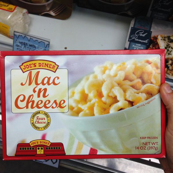 """""""As close to homemade mac and cheese as you'll get."""""""