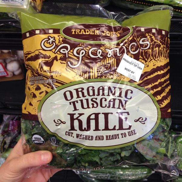 """It's darker and meatier than regular kale."""