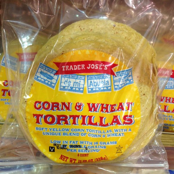 """""""They havethe texture of a flour tortilla with the taste of corn. Yum."""""""