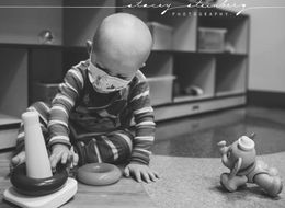 32 Touching Photos Of Cancer's Young Fighters