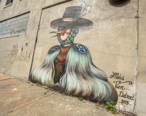 Mural by Miss Van.