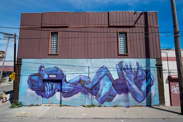 Mural by Taylor White.