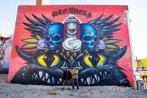 Mural byJeff Soto and Maxx242.