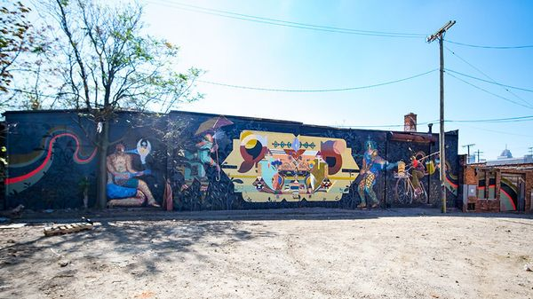 Mural by&nbsp;Monica Canilao.<br><br>